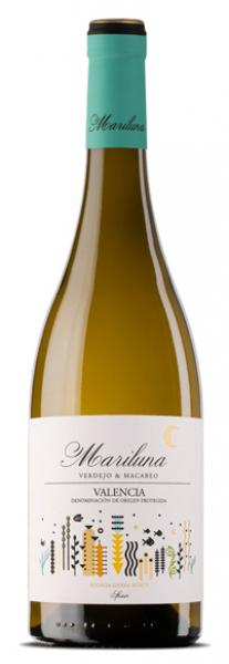 Vino blanco mariluna blanco de sierra norte
