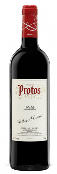 Vino tinto roble protos roble de protos